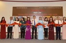 越南传统民间画展展现浓郁民族文化特色