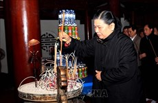 庆祝越老战斗联盟70周年文艺演出活动在乂安省举行