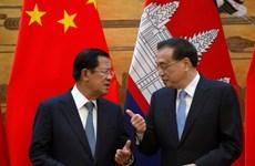 中国与柬埔寨加强合作