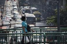 泰国曼谷遭雾霾笼罩