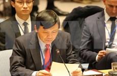 """越南支持巴勒斯坦人民正义斗争和""""巴以两国方案"""""""