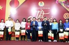 越南政府和国会领导春节前开展走访慰问送温暖活动