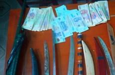 清化省连续破获从老挝贩运到越南的两起毒品案