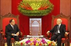 泰国防长希望进一步加强泰越防务合作