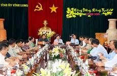 永隆省与柬埔寨磅士卑省加强友好关系