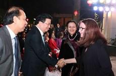 各国驻越外交代表机构和国际组织代表见面会在河内举行
