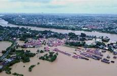 印尼洪灾和山体滑坡中死亡人数增加