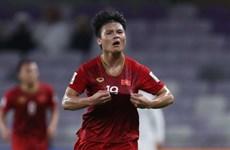 阮光海和段文厚跻身2019年亚洲杯五名最佳U21球员