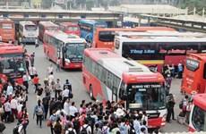 承天顺化省运输企业春运期间努力满足乘客出行需求
