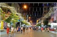 安江省首条步行街将于春节前投入运行