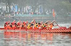 2019年河内市龙舟公开赛将于2月中旬举行