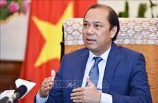 越南政府总理特使、外交部副部长阮国勇访问孟加拉国