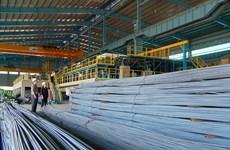 和发集团建筑钢材出口猛增