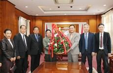 老挝领导人祝贺越南共产党建党89周年