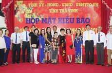 越侨积极为家乡建设做出贡献