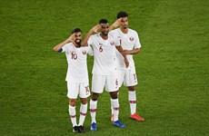 卡塔尔队以7战7胜成绩首次夺得亚洲杯赛冠军