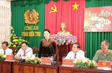 国会主席阮氏金银在槟椥省开展春节走访慰问活动