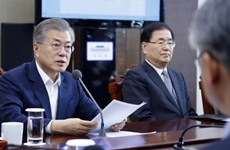 韩国总统欢迎即将在河内举行的美朝领导人第二次峰会
