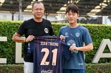 越南国脚梁春长加盟泰国武里南联队