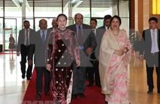 国会主席阮氏金银向孟加拉国议会议长致贺电
