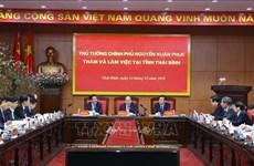 政府总理阮春福: 太平省需注重发展数量和质量