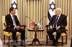 越南驻以色列大使向埃总统递交国书