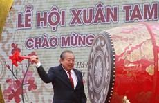 河南省三祝庙会正式开庙