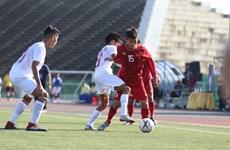 东南亚U22足球锦标赛:越南队取得开门红