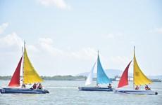 2019年巴地头顿省帆船赛今日正式开赛