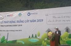 山罗省举行2019年植树节启动仪式