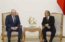 越南政府常务副总理张和平会见俄罗斯总统反腐败局副局长