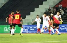 东南亚U22足球锦标赛:越南队4-0大胜东帝汶队晋级半决赛