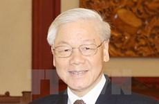 越老合作委员会主席:阮富仲访老有助于进一步密切两国传统友好关系