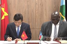越南与南苏丹正式建立外交关系