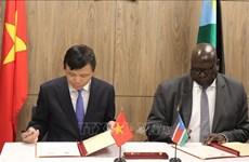 越南与南苏丹高度评价两国建立外交关系的意义