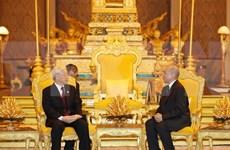 阮富仲即将访问柬埔寨:促进两国关系走向深入 稳步发展