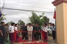 越柬友谊纪念碑在阮富仲访柬之前正式落成