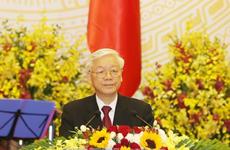 柬埔寨各大媒体对越共中央总书记、国家主席阮富仲访柬进行密集报道