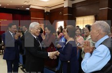 越共中央总书记、国家主席阮富仲:当好越老友好合作桥梁