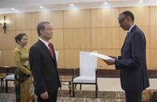 卢旺达总统希望进一步促进与越南的合作