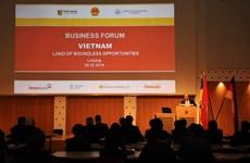 越德投资贸易论坛在德国莱比锡市举行