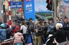 美朝领导人会晤:外国记者可免费乘坐火车和公交车