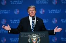 美朝领导人第二次会晤:美国总统感谢全体越南人