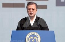 韩国总统文在寅:美朝领导人第二次会晤取得了有意义的进展