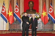 朝鲜主席金正恩:朝鲜重视并希望继续巩固与越南的传统友好关系