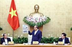 越南政府总理阮春福:尽最大努力促进经济增长