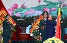 越南政府总理阮春福出席边防部队传统日60周年纪念典礼
