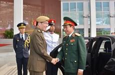 越南与新加坡加强防务合作