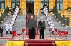 日媒深度报道朝鲜最高领导人金正恩对越南进行的正式访问