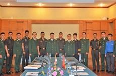 加强越印军队年轻军官交流